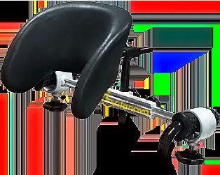 Cabezales sistemas de retenci n talleres vilanova - Reposacabezas silla de ruedas ...